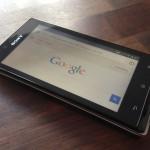 Smartphone-ikon på mobile Google-søgninger