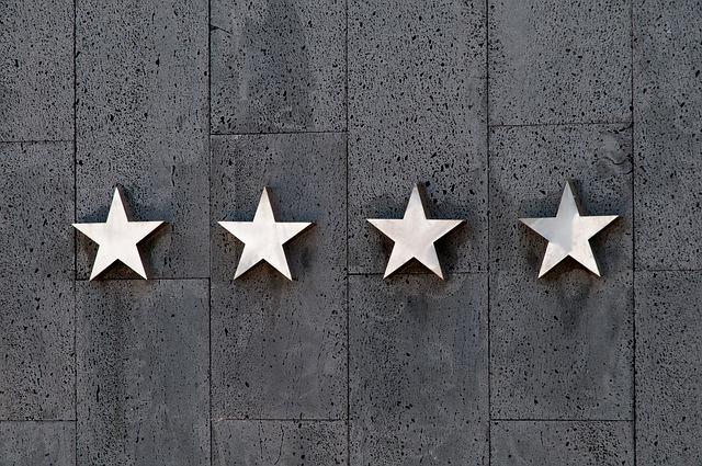 Stjerner på trustpilot