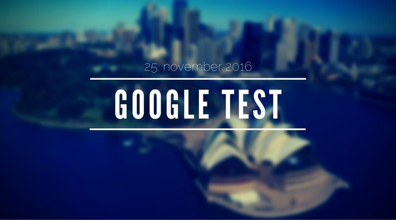 Google tester søgeresultater