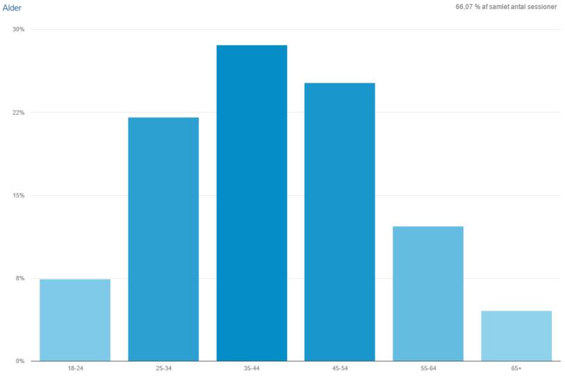 Google Analytics demografidata